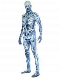 Halloween Morphsuits™ Herrenkostüm mit Spinnweben für Erwachsene