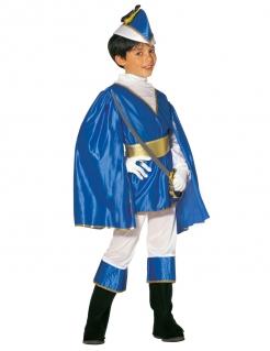 Kostüm Prinz für Jungen blau
