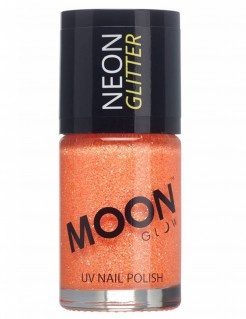 UV-Nagellack Neon-Glitzer Moonglow© orange 15ml