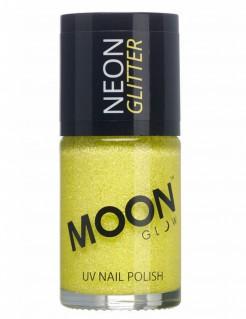 UV-Nagellack Neon-Glitzer Moonglow© gelb 15ml