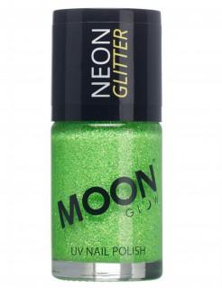 UV-Nagellack Neon-Glitzer Moonglow© grün 15ml
