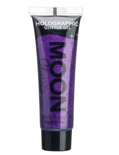 Glitzer-Gel Make-up Moonglow© violett 12ml