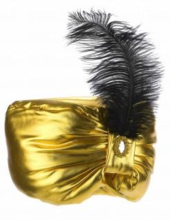 Orientalischer Kopfschmuck für Herren gold