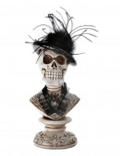 Gothic Halloween Schädel-Dekoration 27 cm