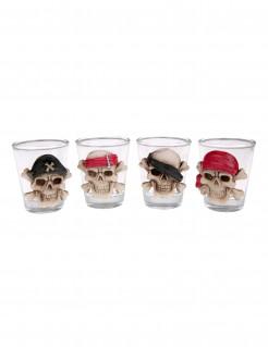Shotglas mit Totenschädel 6 cm