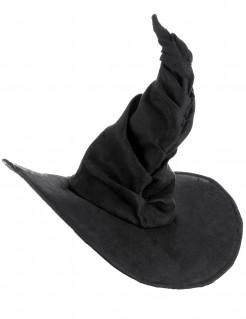 Gebogener Hexenhut Märchenhexen-Hut schwarz