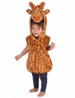 Süsses Giraffenkostüm für Kleinkinder braun