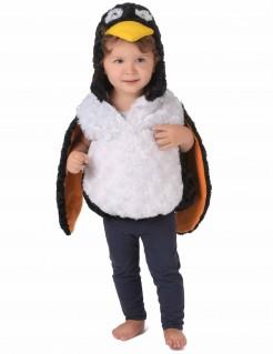 Süsses Pinguinkostüm für Kleinkinder schwarz-weiss