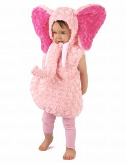 Kleiner Elefant Kleinkinder-Tierkostüm rosa-pink