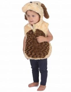 Niedliches Hundekostüm für Kleinkinder beige-braun