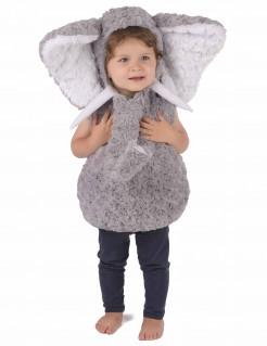 Elefanten-Kinderkostüm grau