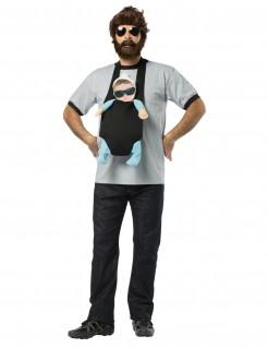 JGA-Kostüm Mann mit Baby schwarz