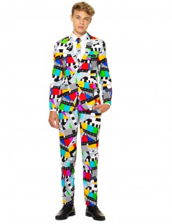 OppoSuits™ Teenager-Kostüm Mr. Technicolor