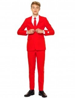 OppoSuits™ Teenager-Kostüm Mr. Red