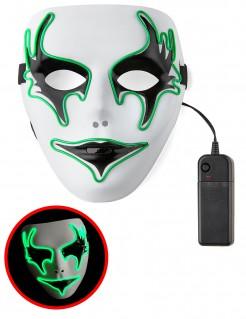 Maske Phantom für Erwachsene hellgrün