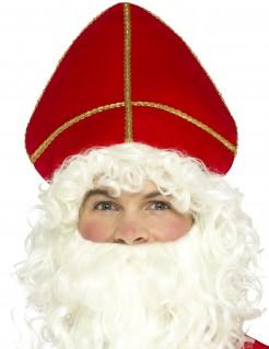 Nikolaus-Mütze für Erwachsene Weihnachts-Accessoire