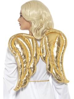 Engelsflügel für Erwachsene gold 50 x 40 cm