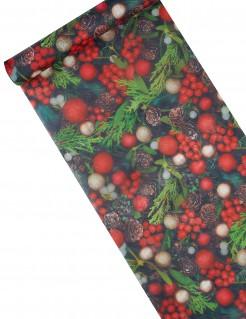 Tischläufer Stechpalme Weihnachts-Deko 5 m