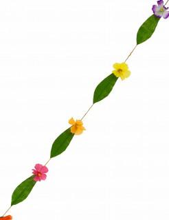 Hawaii-Girlande mit Blüten bunt 1,8m