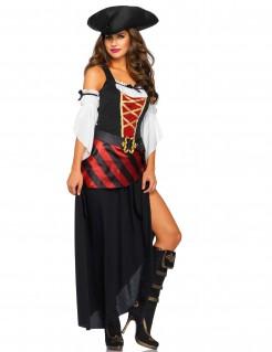 Kostüm Piratin der Ozeane für Damen