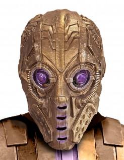 Maske Roboter für Erwachsene gold