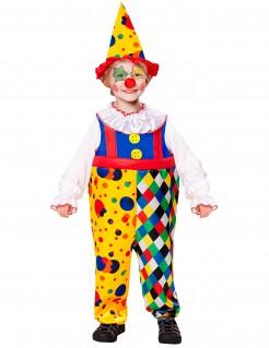 Kostüm Clown für Jungen gelb