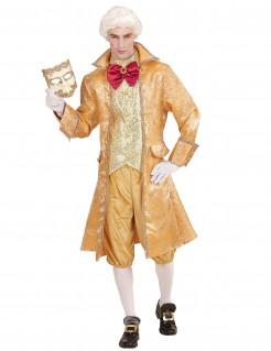 Venezianer-Herrenkostüm Edelmann-Kostüm gold