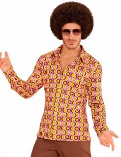 70er Jahre Disco-Shirt für Herren