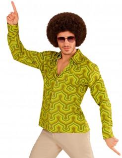 Groovy 70er Jahre Hemd für Herren