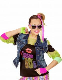 80er Jahre Zubehör-Set für Mädchen bunt