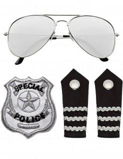 Polizei Zubehör-Set für Erwachsene
