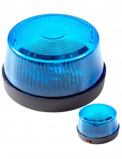 Notfall Sirene blau 7 x 4 cm