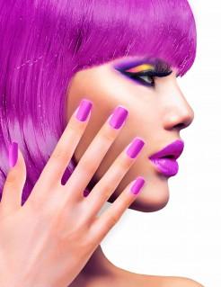 Künstliche Fingernägel lila