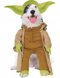 Star Wars™ Yoda™ Hundekostüm Lizenzware braun-grün