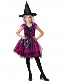 Halloween-Kostüm Hexe für Mädchen