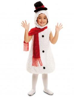 Weihnachts-Kostüm Schneemann für Kinder