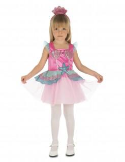 Meerjungfrauenkostüm für Kinder rosa-blau