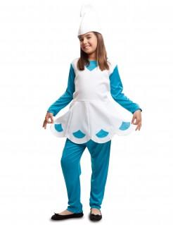 Kostüm Elf für Mädchen blau