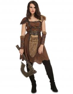 Kostüm Kriegerin des Nordens für Damen