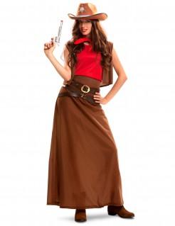 Kostüm Cowgirl für Damen