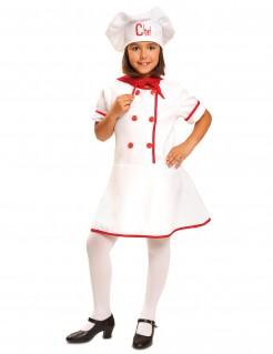 Kostüm Köchin für Mädchen