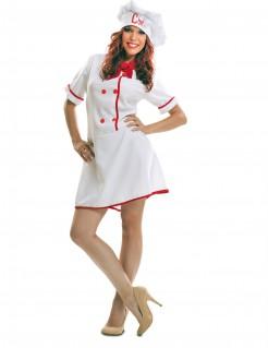 Kostüm Köchin für Damen