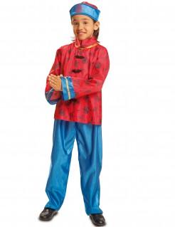 Kostüm Chinese für Jungen rot