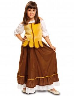 Kostüm mittelalterliche Schankmaid für Mädchen