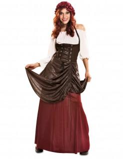 Kostüm Barkeeper für Damen