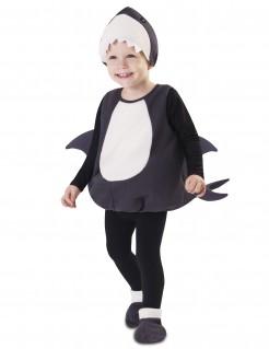 Kostüm kleiner Hai für Babys