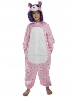 Bären Kostüm für Kinder Tierkostüm rosa