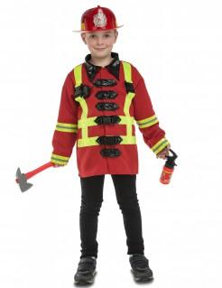 Feuerwehrmann-Kostüm mit Zubehör für Kinder