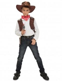 Cowboy-Kostüm mit Zubehör für Kinder
