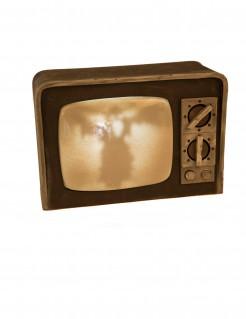 Horror-Fernseher mit Licht und Sound Halloween-Deko 21x31cm